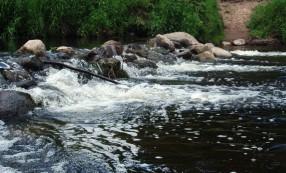 Jūros upės užtvankėlės